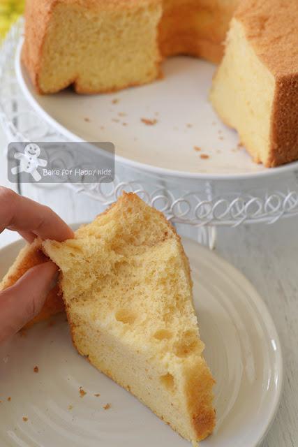 salted egg yolk chiffon cake