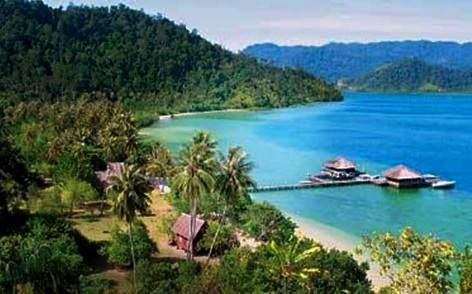 Wisata Pulau Cubadak Kabupaten Pesisir Selatan Sumatera Barat