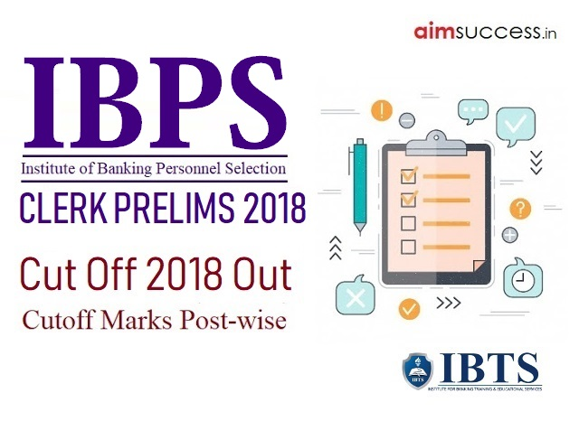 IBPS Clerk Prelims 2018 Cut Off Out, Check State-wise Cutoff Marks