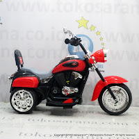 Junior TR1501 Moge Rechargeable-battery Operated Toy Motorcycle