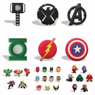 íman Super Heróis