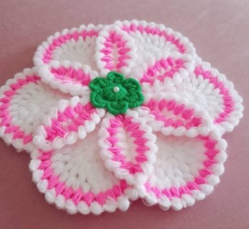 Gorgeous Crochet Flower - Tutorial