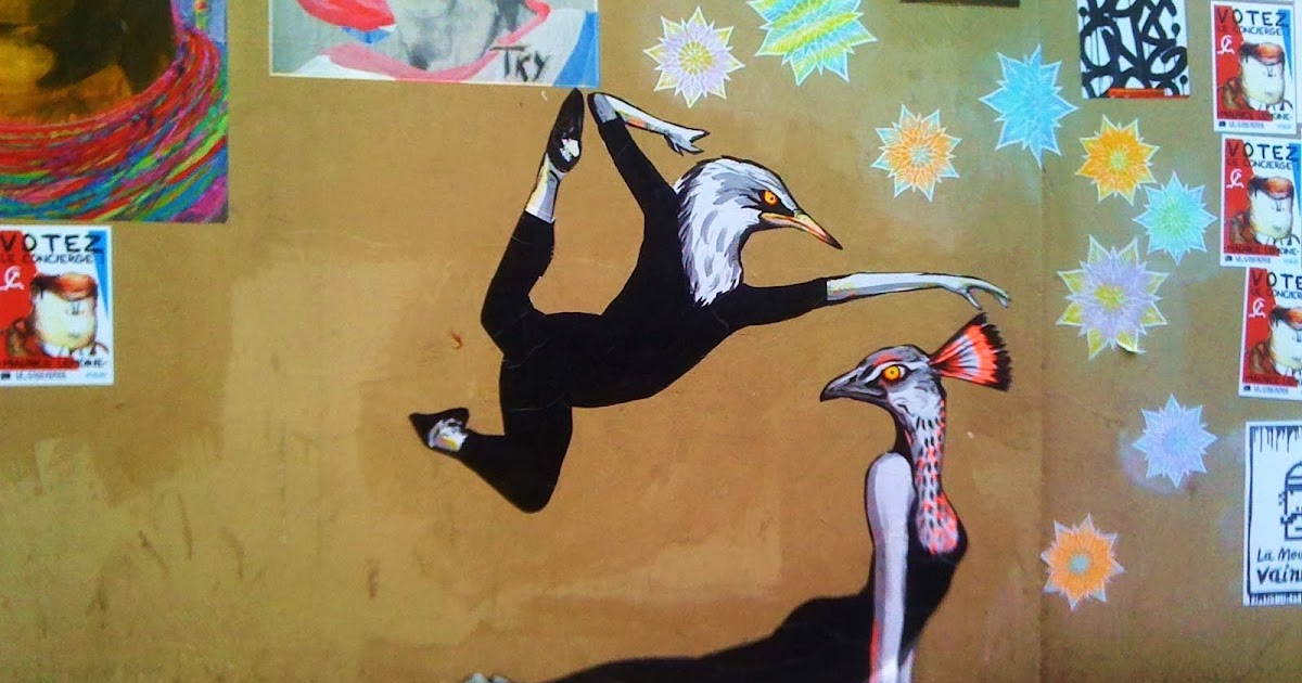 sunday street art suriani rue de la fontaine au roi. Black Bedroom Furniture Sets. Home Design Ideas