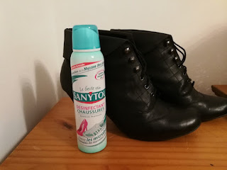 spray chaussures sanytol