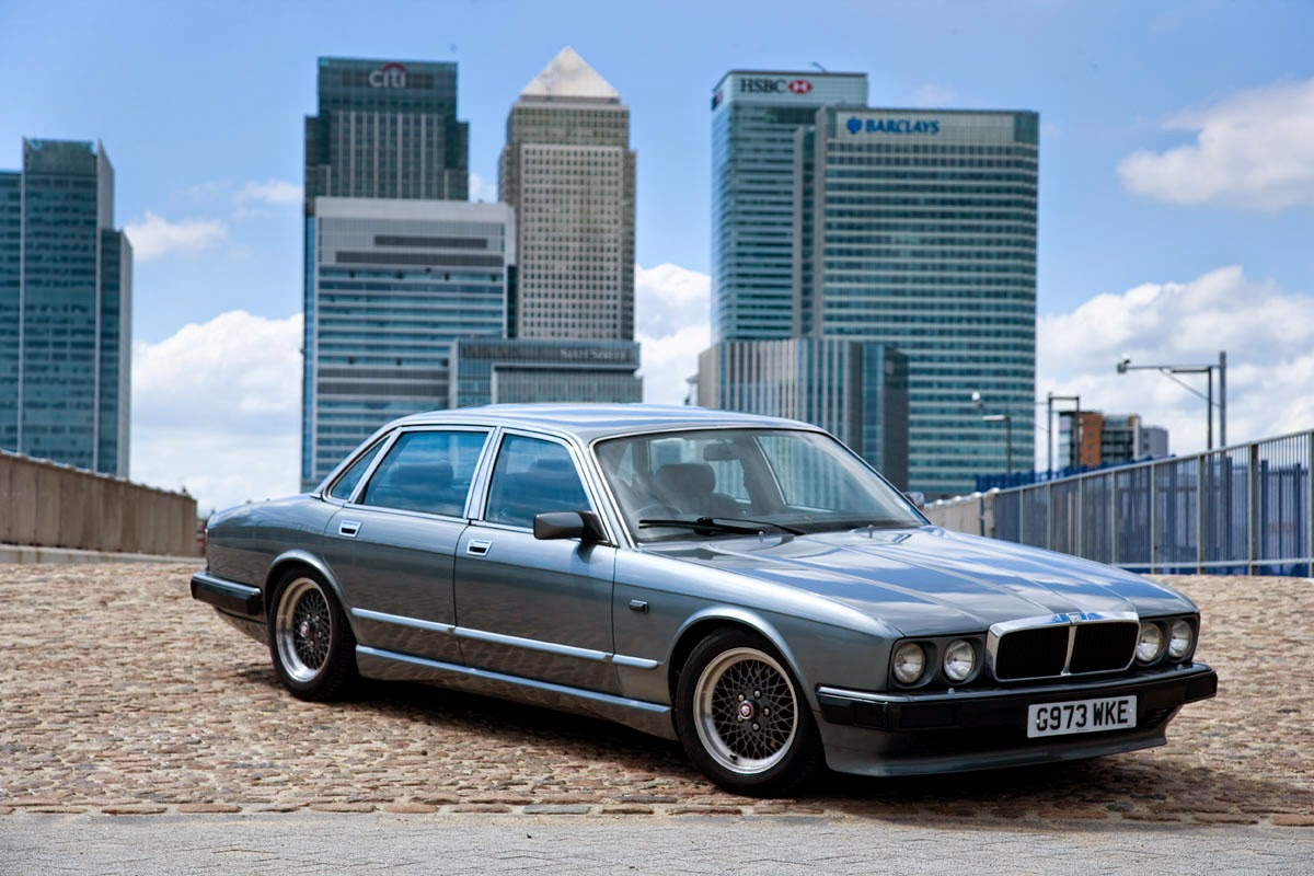 Jaguar XJ40 Project JEC magazine feature and photoshoot