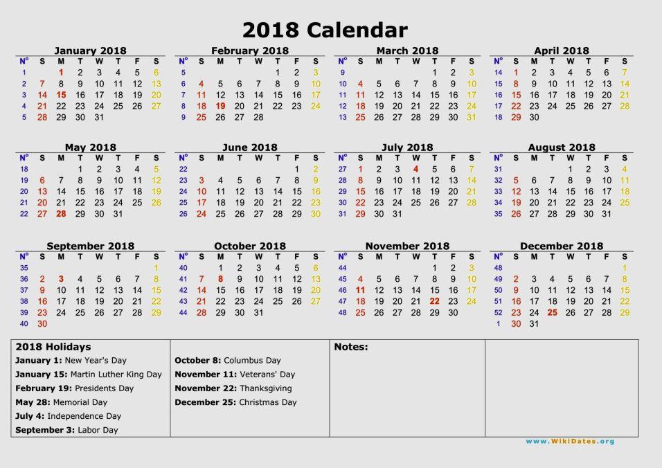 december 2018 printable calendar with holidays
