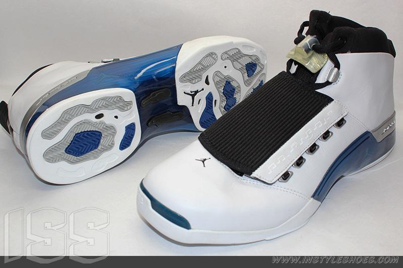 52c8e91d3e3 ... 17 white college blue black mens online f4a10 49f6f best price nike air  jordan xvii college blue 2002 302720 141 4fa3f ac70d wholesale cheap ...