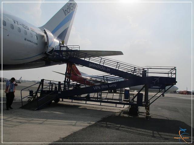 Voando pela IndiGo Airlines