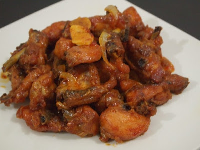 Gambar Resep Ayam Dengan Saus Khas Padang