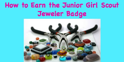 How to Earn the Junior Girl Scout Jeweler Badge-complete meeting plans