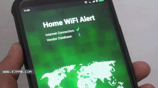 معرفة المتصلين بالشبكة وقطع الاتصال للاندرويد