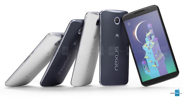 sinyal LTE 4G hilang di Nexus 6