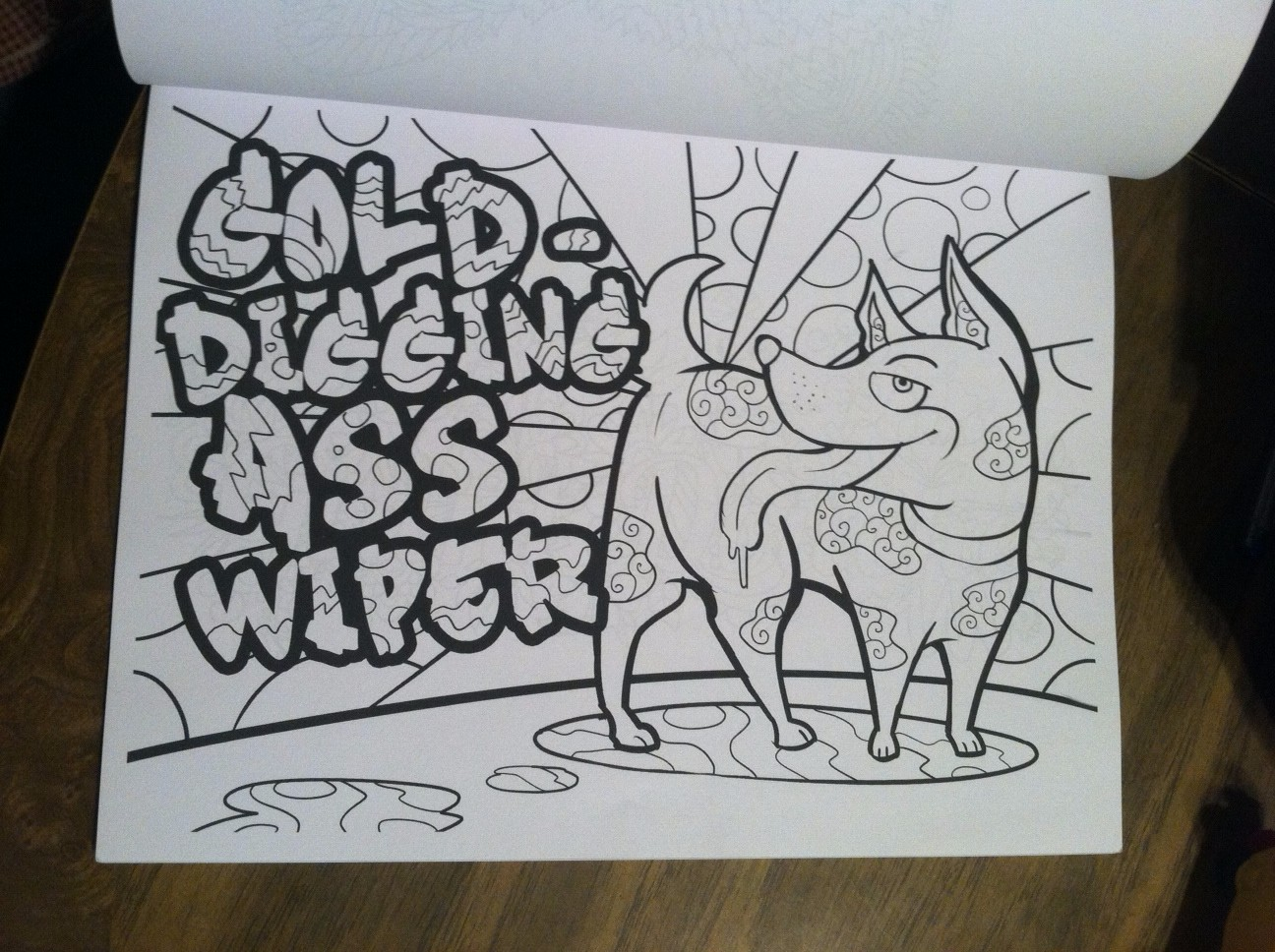 Sw swear word coloring pages etsy - Adult Curse Word Coloring Book I Needed Something To Do To Occupy My Time And