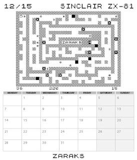 Sunteam: Calendario ZX-81 2015