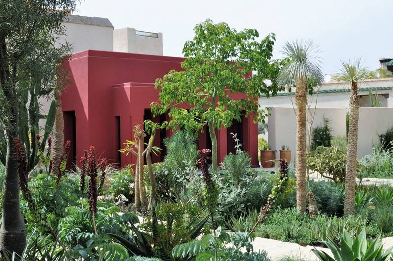 Le jardin secret en marrakech for Jardin secret des hansen
