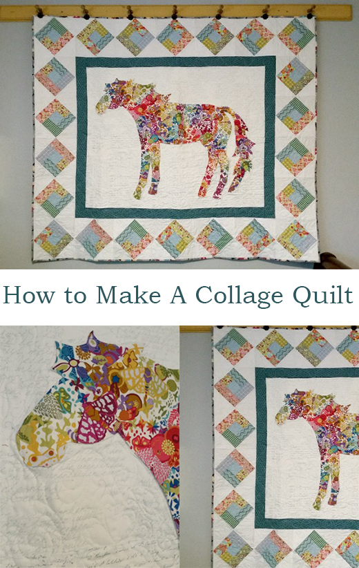 How to Make a Collage Quilt by Patchwork Posse