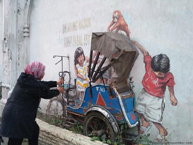 mural di jalan perdana