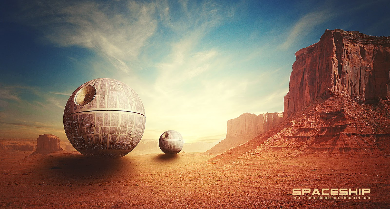 Create a Sci-Fi Photo Manipulation in Photoshop