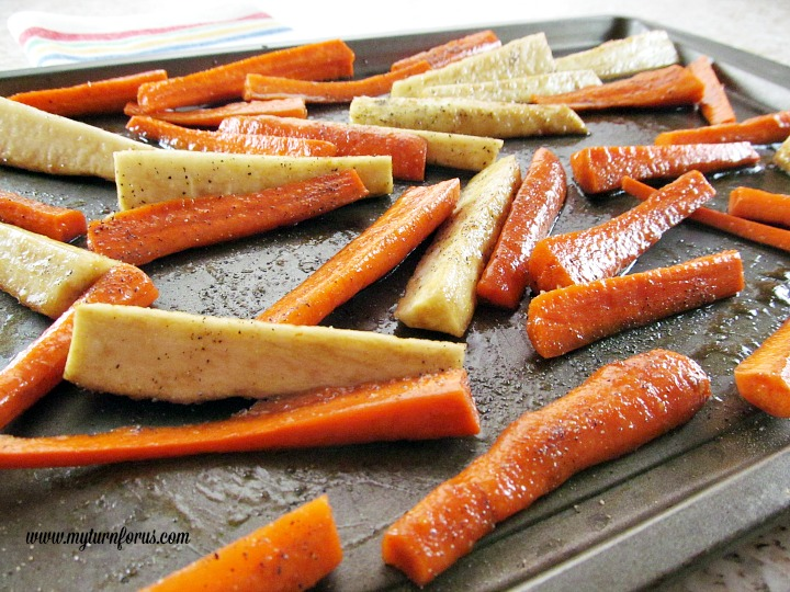 How to make the best Honey Balsamic Glazed Carrots and Parsnips