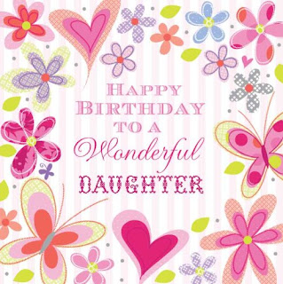 Happy Birthday Greeting For Daughter
