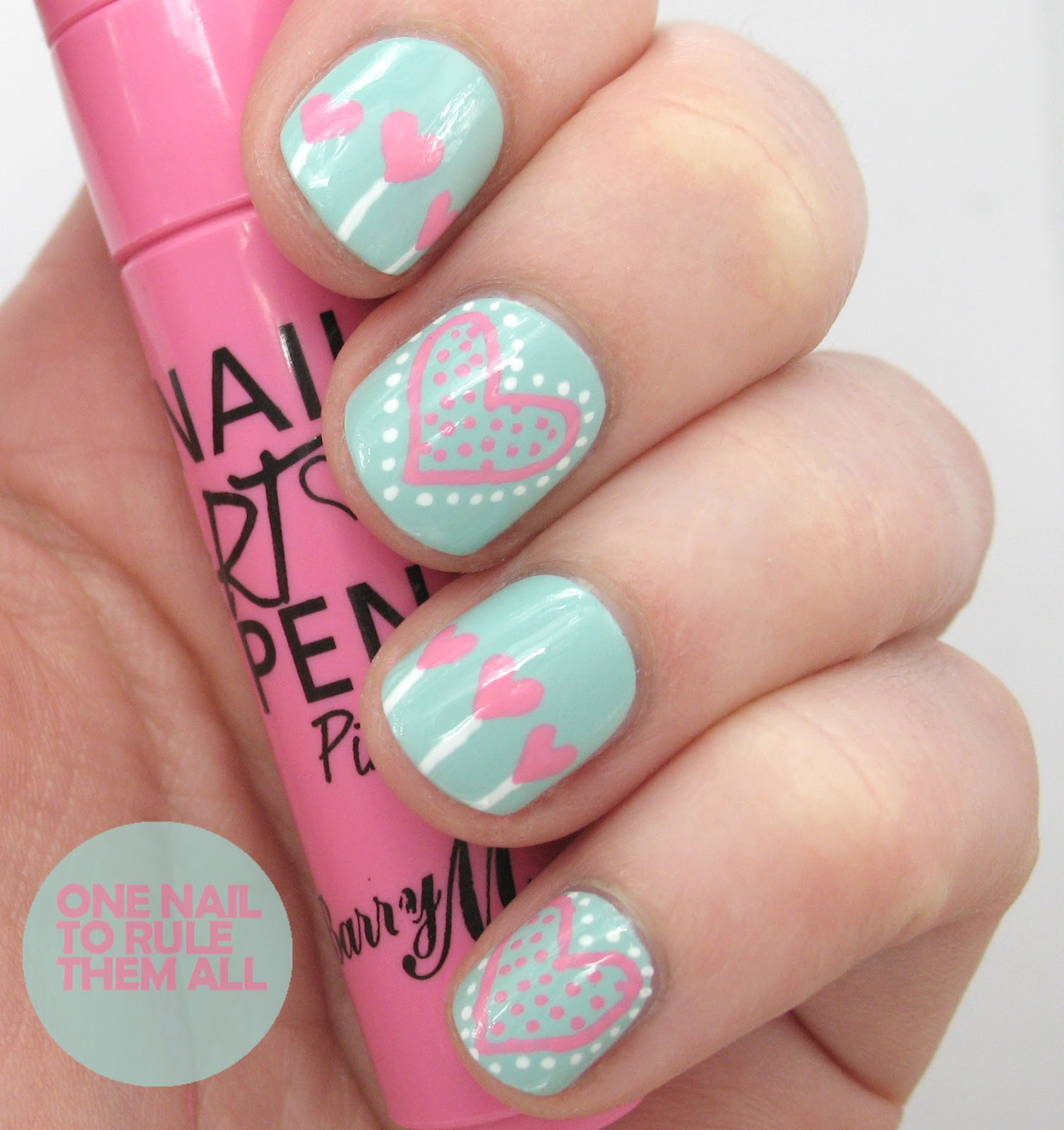 Adorable Nail Art: One Nail To Rule Them All: Barry M Nail Art Pens Review