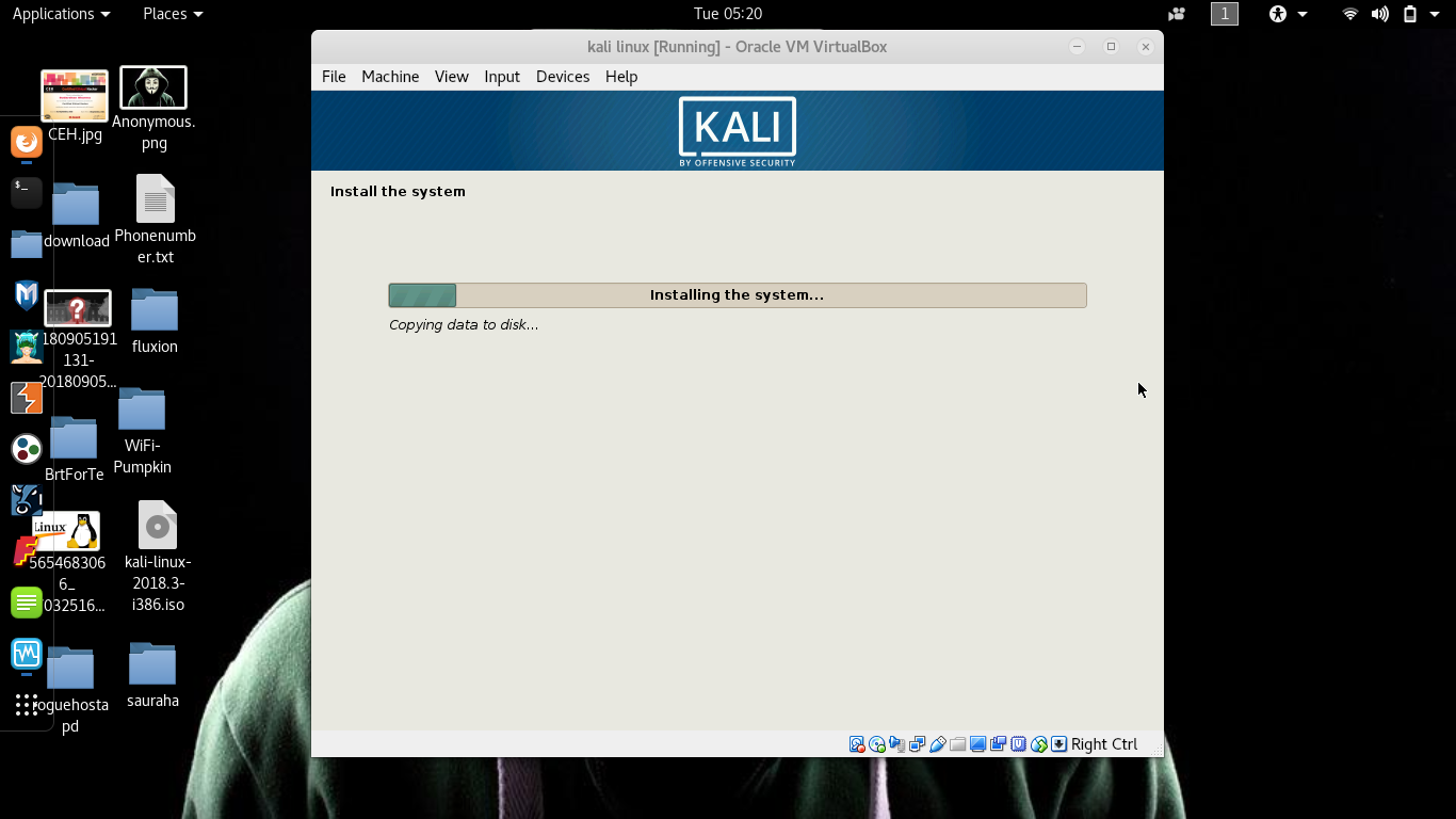 Installing Kali Linux on windows   Dual boot you pc with Vmware or