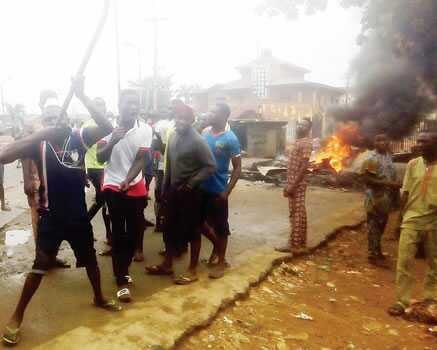 Tension In Lagos!! Hausa Trader Kills A Yoruba Driver Over N30