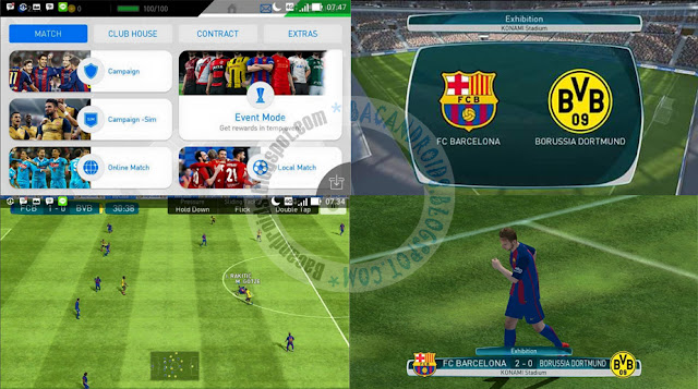 Download PES2017 Pro evolution Soccer Terbaru Mod Apk Data Obb Full Latest Android