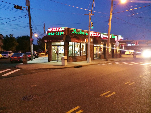 Brothers Pizza In Staten Island