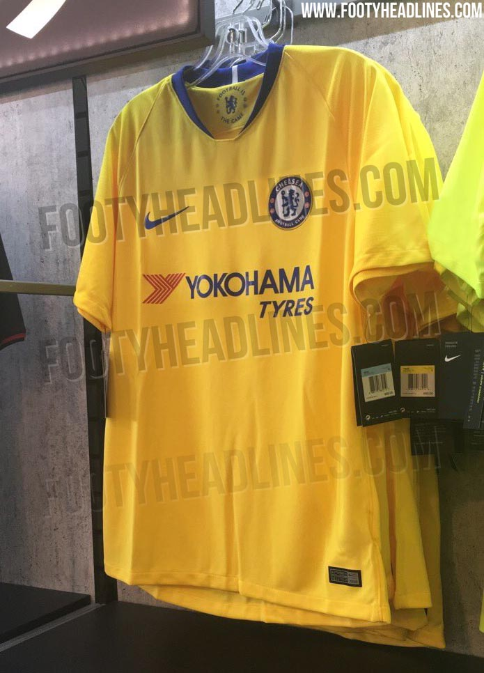 competitive price 3229c 5edac OFFICIAL Pictures: Nike Chelsea 18-19 Away Kit Leaked ...