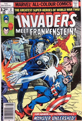Invaders #31, Frankenstein's Monster