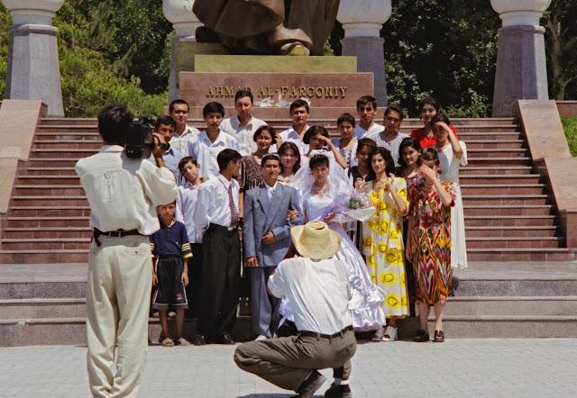 Ouzbékistan, Ferghana, mariage, © Louis Gigout, 1999