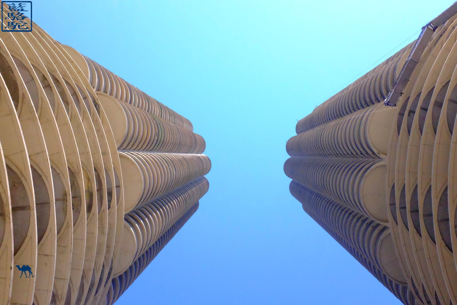 Le Chameau Bleu - Marina City de Bertrand Goldberg