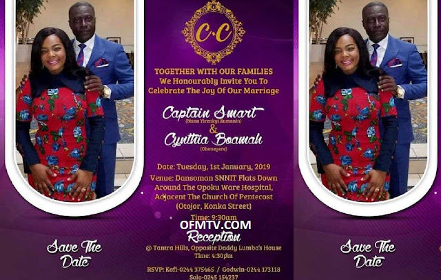 Adom FM's Captain Smart to wed new USA girlfriend on 1st Jan 2019