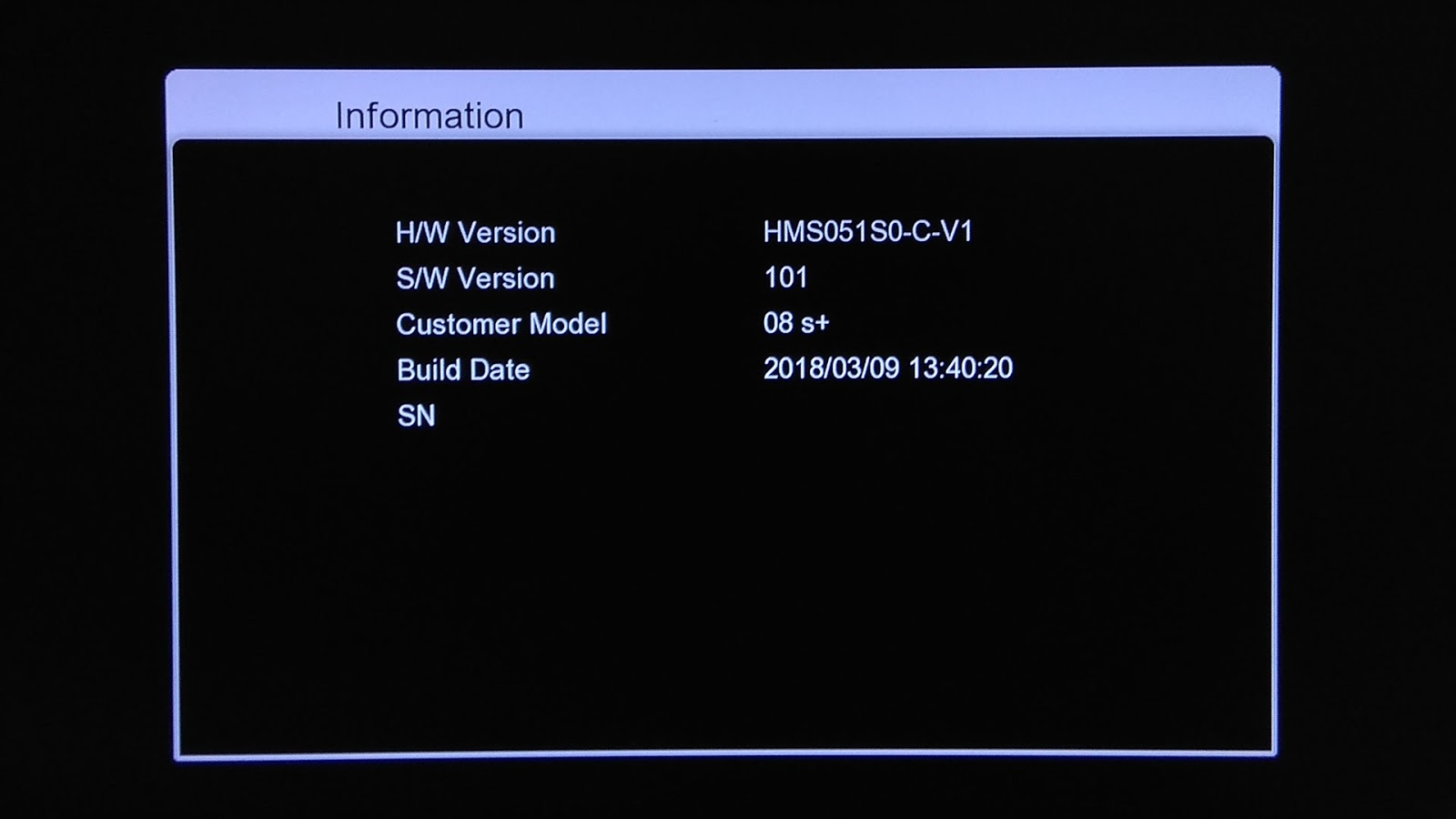 Software Icone O8 S+ New Receiver Firmware Update