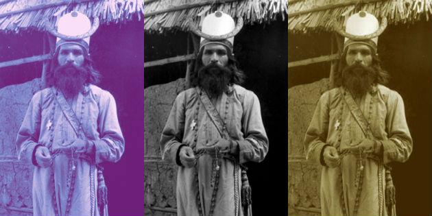 triada de imágenes del místico elquino