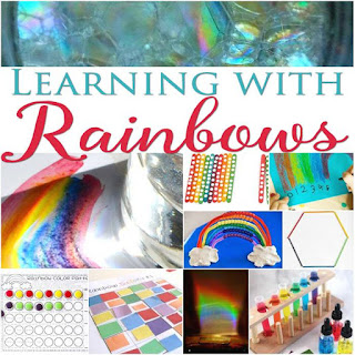 educational rainbow activities for kids