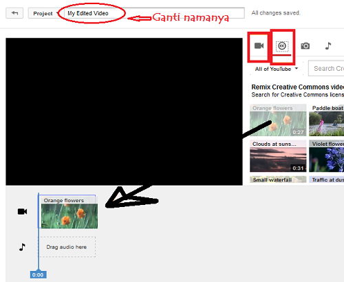Cara Upload Youtube Lisensi Creative Commons