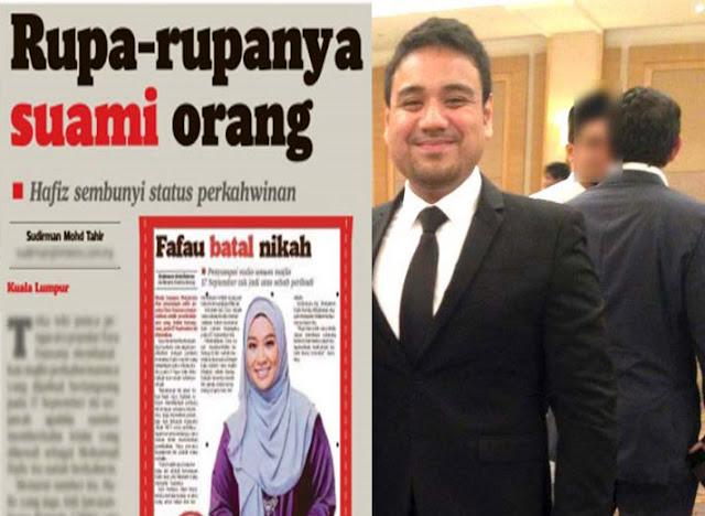 Farah Fauzana Batal Kahwin Suami Orang