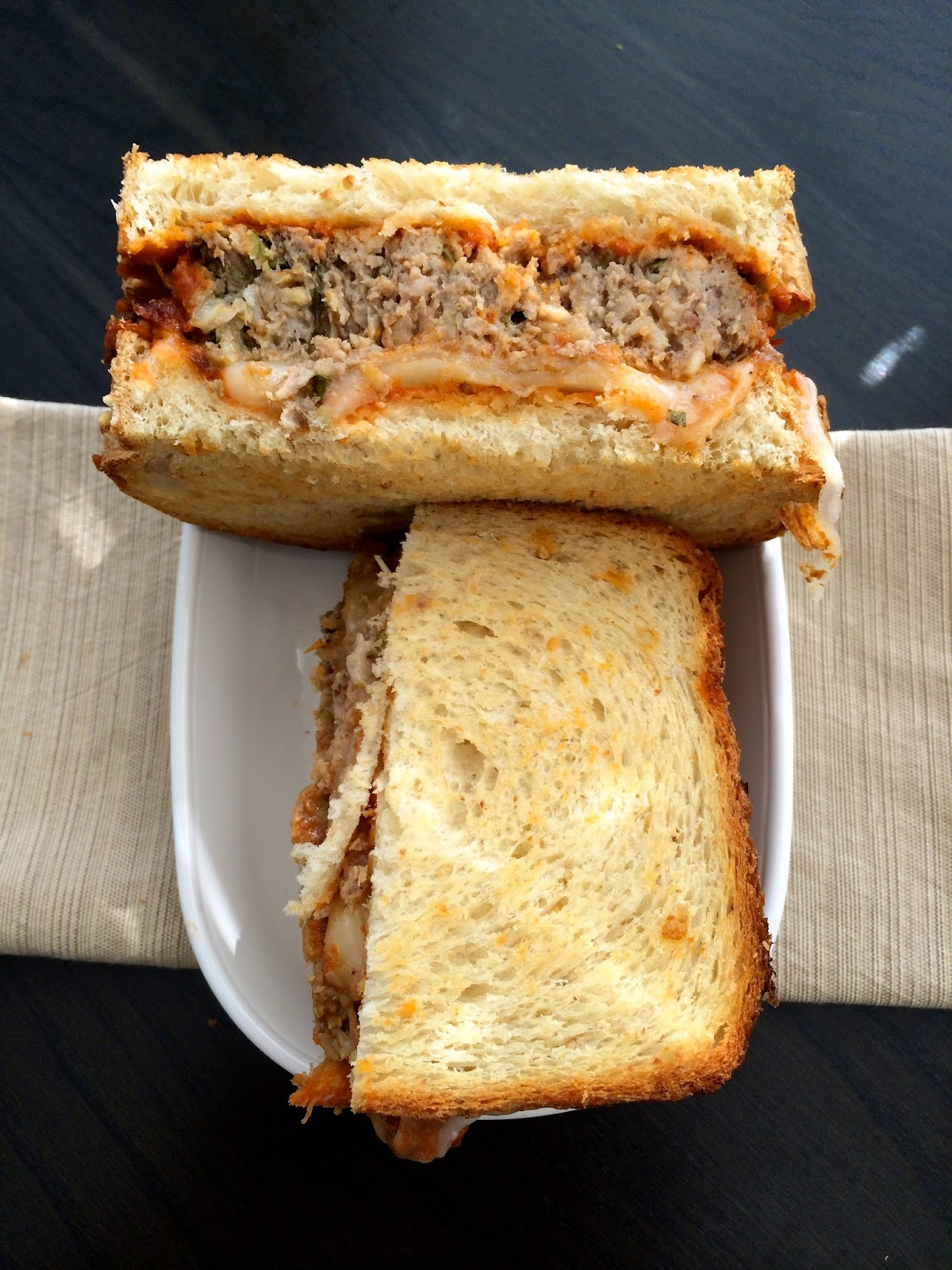 Rustic Meatloaf Sandwich