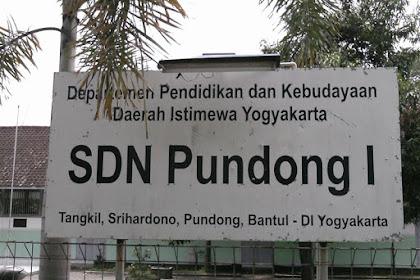 Profil Perpustakaan Sekolah SD Negeri 1 Pundong, Desa Tangkil, Bantul Yogyakarta