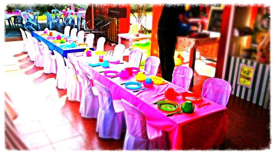 Kids Party Table Chairs