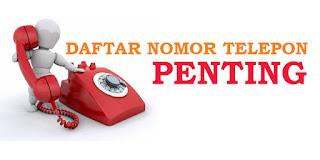 Informasi Nomor Telepon Penting