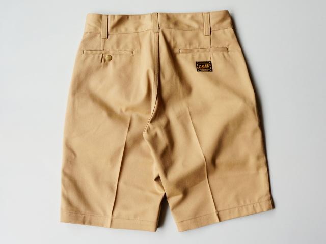 CALEE/キャリー T/C TWILL CHINO SHORT PANTS トランプススタッフブログ