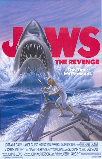 Jaws 4 The Revenge 1987 Dual Audio Hindi 720p HDTV 700mb