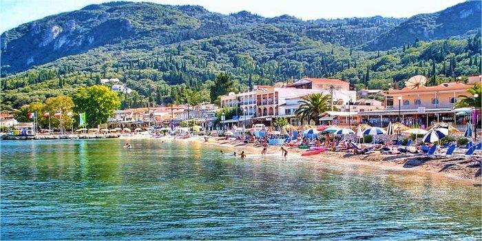 Benitses, Kerkyra, Grecia