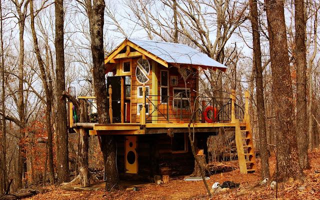 Cabin Treehouse/Renovation