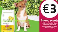 Logo Buono sconto Natural Trainer da 3€ : richiedilo gratis e ricevi anche una pinza salva freschezza in omaggio!