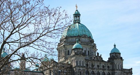 British Columbia Legislature Parliament Building Victoria
