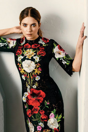 ashley benson beauty model photo marie claire magazine